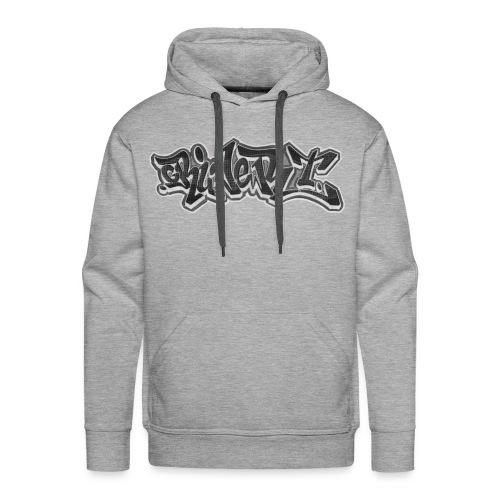 Grauer T Pullover - Männer Premium Hoodie