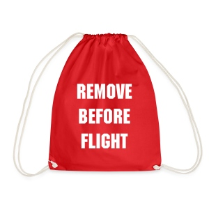 REMOVE  BEFORE  FLIGHT - Bagpack - Gymtas