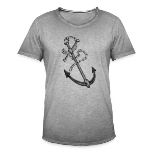 Anchor Tee shirts - T-shirt vintage Homme