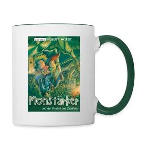 Monstärker-Becher - Tasse zweifarbig