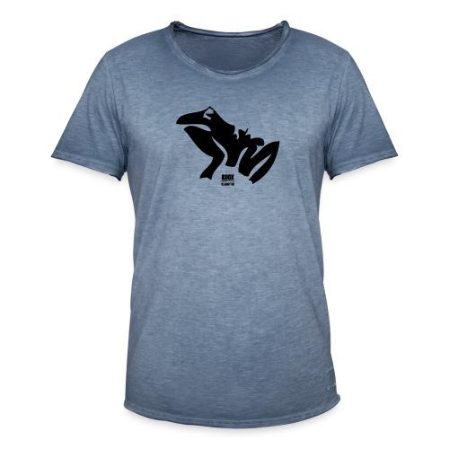 FROSCH - KOOX KLAMOTTEN - Männer Vintage T-Shirt