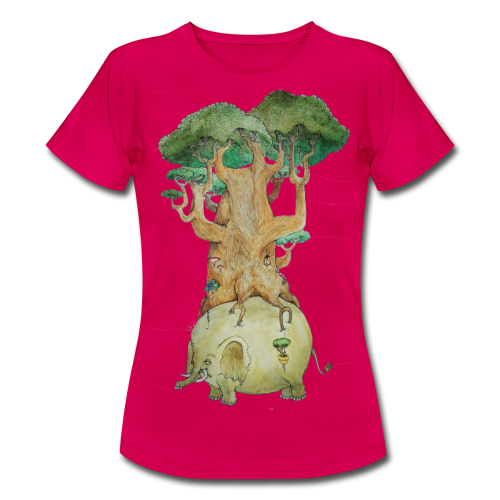 Baobab su elefante - Women's T-Shirt