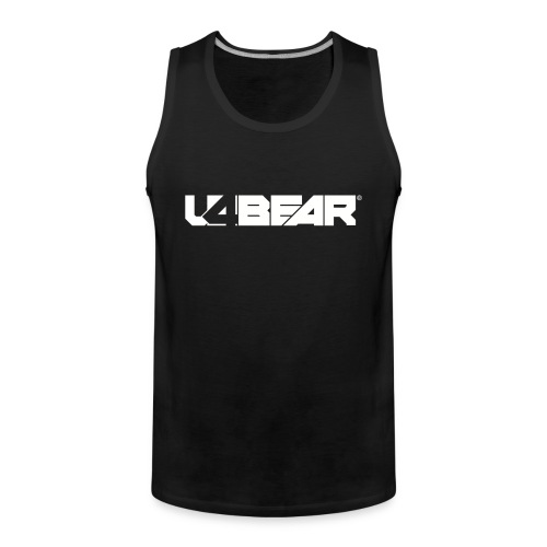 u4Bear Tank - Men's Premium Tank Top