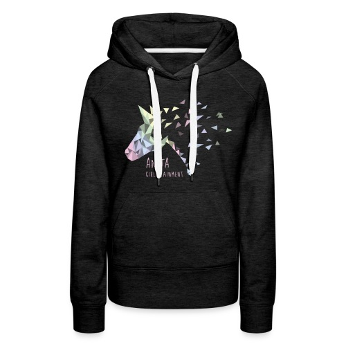 Anita Girlietainment Pastell Rainbow Hoodie - Frauen Premium Hoodie