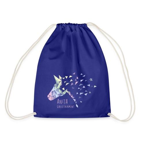 Anita Girlietainment Pastell Rainbow Sportbag - Turnbeutel