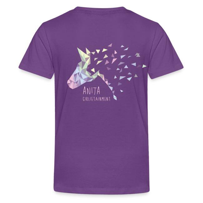 Anita Girlietainment Pastell Rainbow Shirt