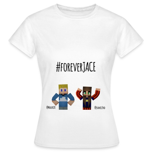 #Jace Damen (kurz) v1 Design unten - Frauen T-Shirt