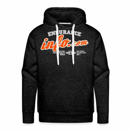 Endurance info 10eme anniversaire - Sweat-shirt à capuche Premium pour hommes