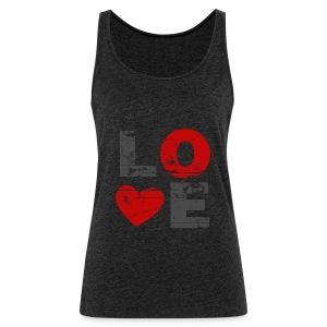 Top Love - Frauen Premium Tank Top