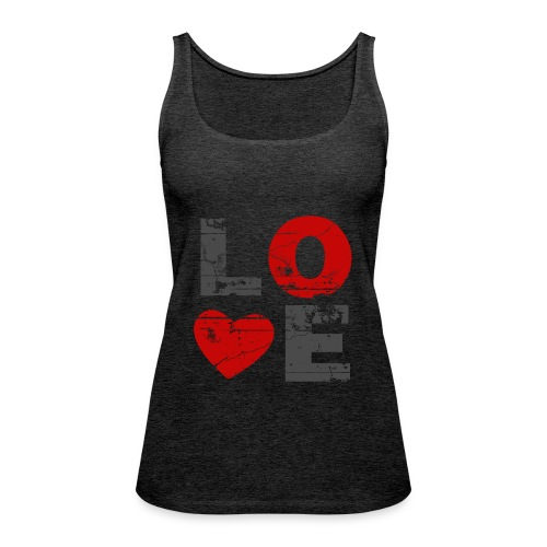 Top Love - Frauen Premium Tank Top