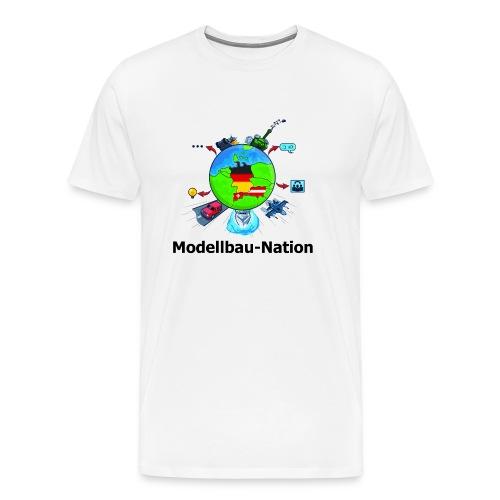 MBN-Shirt Weiß - Männer Premium T-Shirt