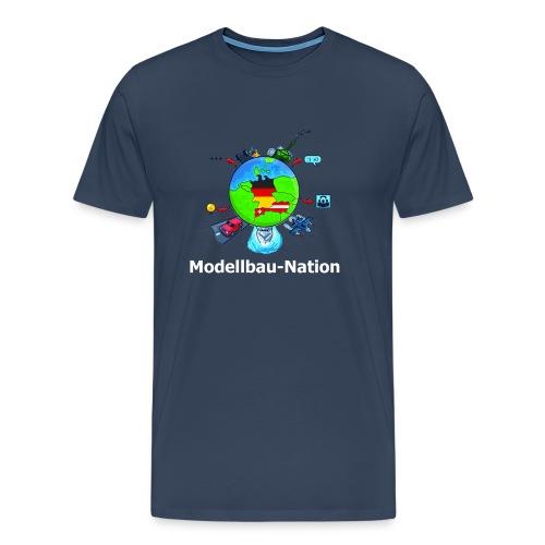 MBN-Shirt Navy - Männer Premium T-Shirt