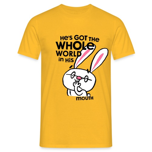 He's Got The Whole World - Männer T-Shirt