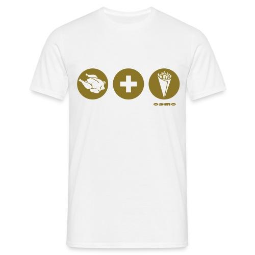 pommeshaehnchen - Männer T-Shirt
