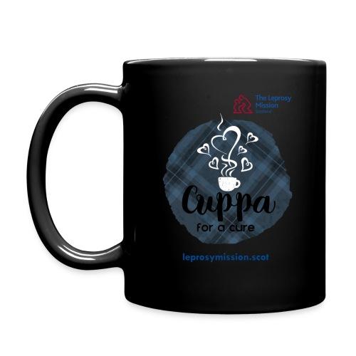 Cuppa for a Cure Mug - Black - Full Colour Mug