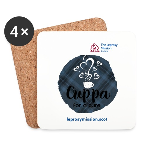 Cuppa for a Cure Coasters (4) - Coasters (set of 4)
