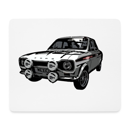 Mk1 Escort Mexico Mouse Mat - Mouse Pad (horizontal)