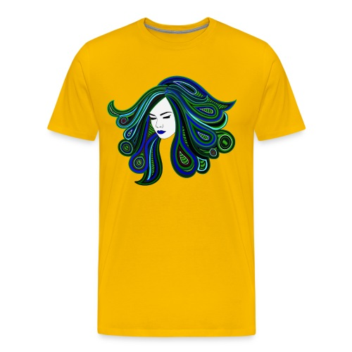 Psych Girl - Männer Premium T-Shirt