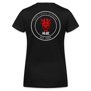 TJG TShirt V, women, 2sided - Frauen Bio-T-Shirt mit V-Ausschnitt von Stanley & Stella
