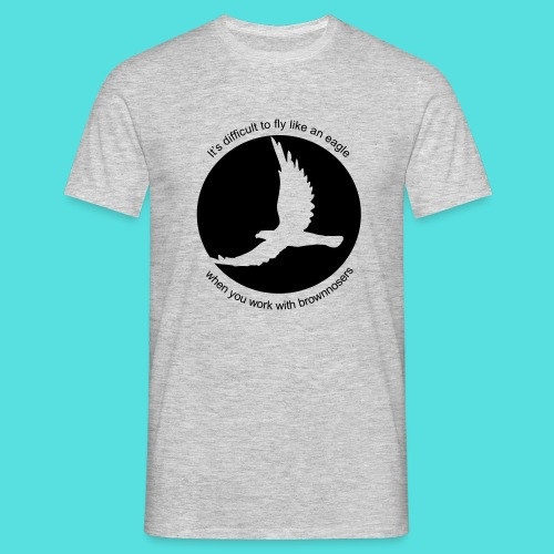 difficult  - Männer T-Shirt