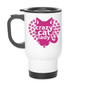 crazy cat lady Thermobecher - Thermobecher