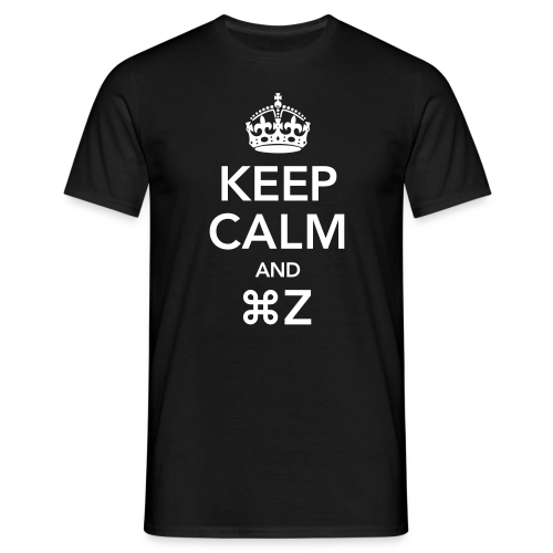 keep calm and Z - T-shirt Homme