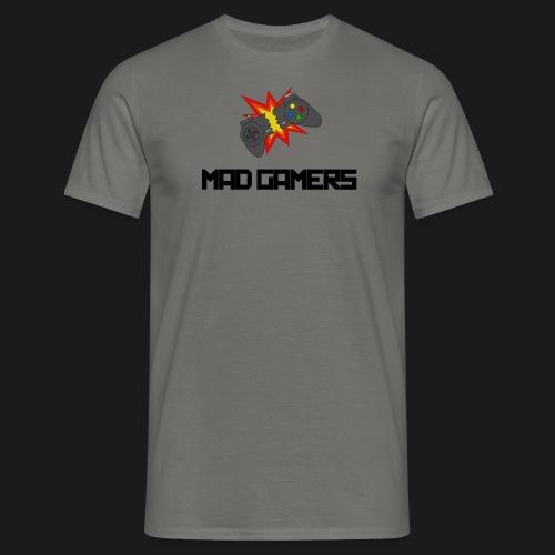 Mad Gamers T-Shirt schwarzes Logo - Männer T-Shirt