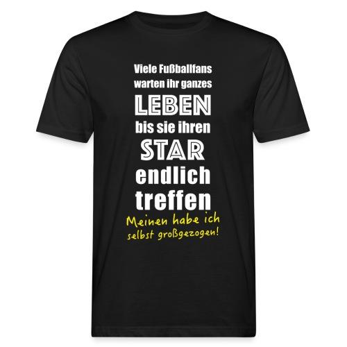 Fußball T-Shirt für Fußballer Vater Mutter Fußballfan - Männer Bio-T-Shirt