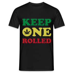Männer T-Shirt - Keep One Rolled