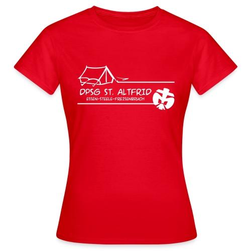 Zelt-Shirt Frauen - Frauen T-Shirt