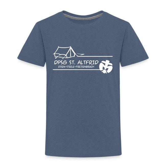 Zelt-Shirt Kinder