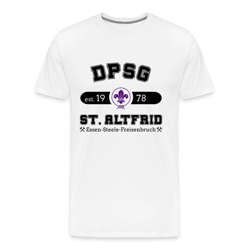DPSG St. Altfrid - College-Design Männer - Männer Premium T-Shirt