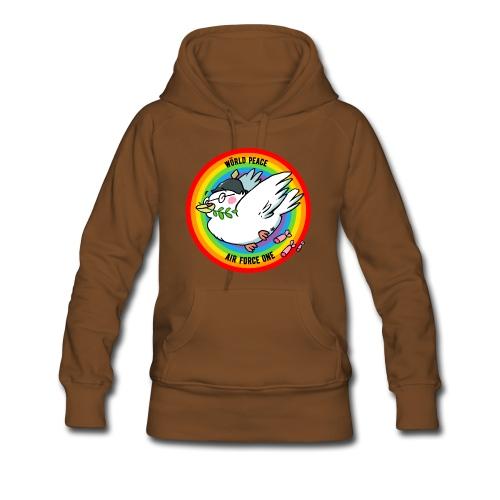 Wörld Peace Air Force One - Frauen Premium Hoodie