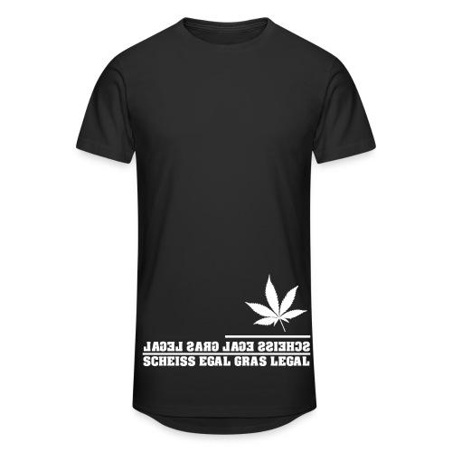 #Stoner ~ Scheiss egal Gras Legal /  Longshirt - Männer Urban Longshirt