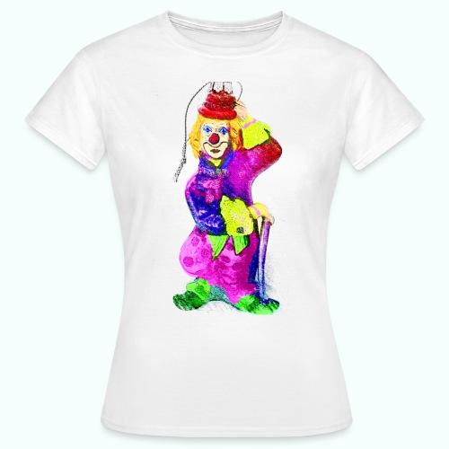 clown gemalt - Women's T-Shirt