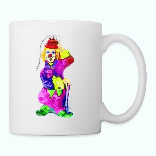 clown gemalt - Mug