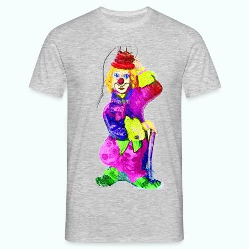 clown gemalt - Men's T-Shirt