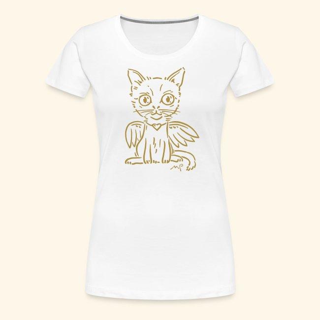 Ich Katze - ich Engel - schnurrrr - goldig