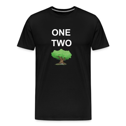 One Two Tree - Männer Premium T-Shirt