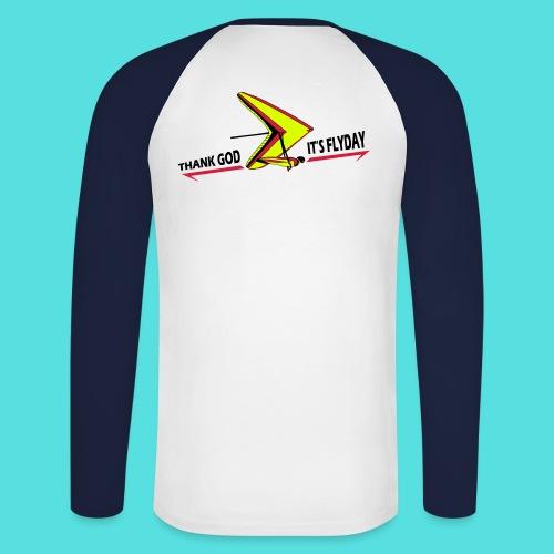 flyday - Männer Baseballshirt langarm