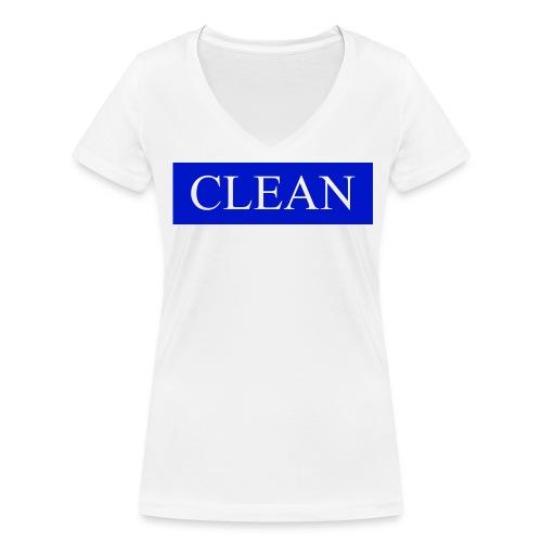For Women - Frauen Bio-T-Shirt mit V-Ausschnitt von Stanley & Stella