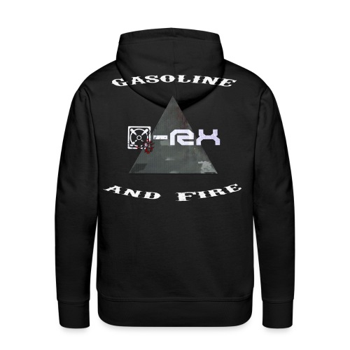 [x]-Rx Gasoline and Fire Hoodie - Männer Premium Hoodie