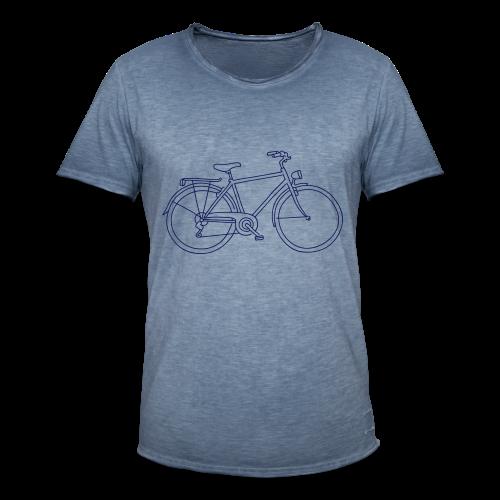 Fahrrad - Männer Vintage T-Shirt