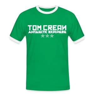 TOM CREAN - 3 STARS - Men's Ringer Shirt