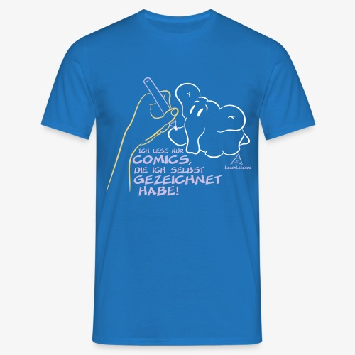Ich lese nur COMICS ... - Männer T-Shirt