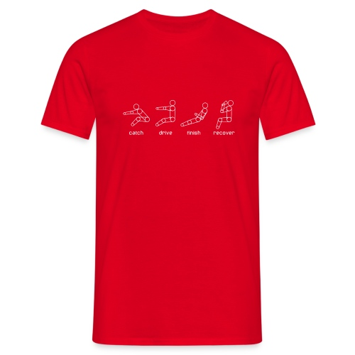 Catch, drive, finish, recover - Men's T-Shirt