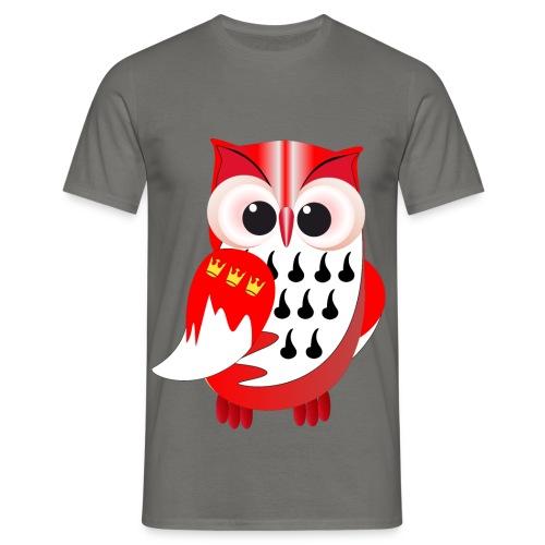 Wappeneule - Männer T-Shirt
