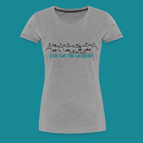 Women's Road Trip Tee - Women's Premium T-Shirt