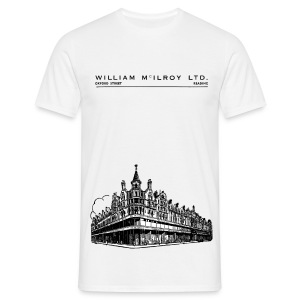 McIlroy's of Reading (Front) - Men's T-Shirt