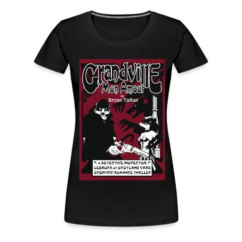 Grandville: Mon Amour  ladies black t-shirt - Women's Premium T-Shirt